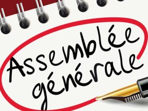 Assemblée Générale - 31 octobre 2020