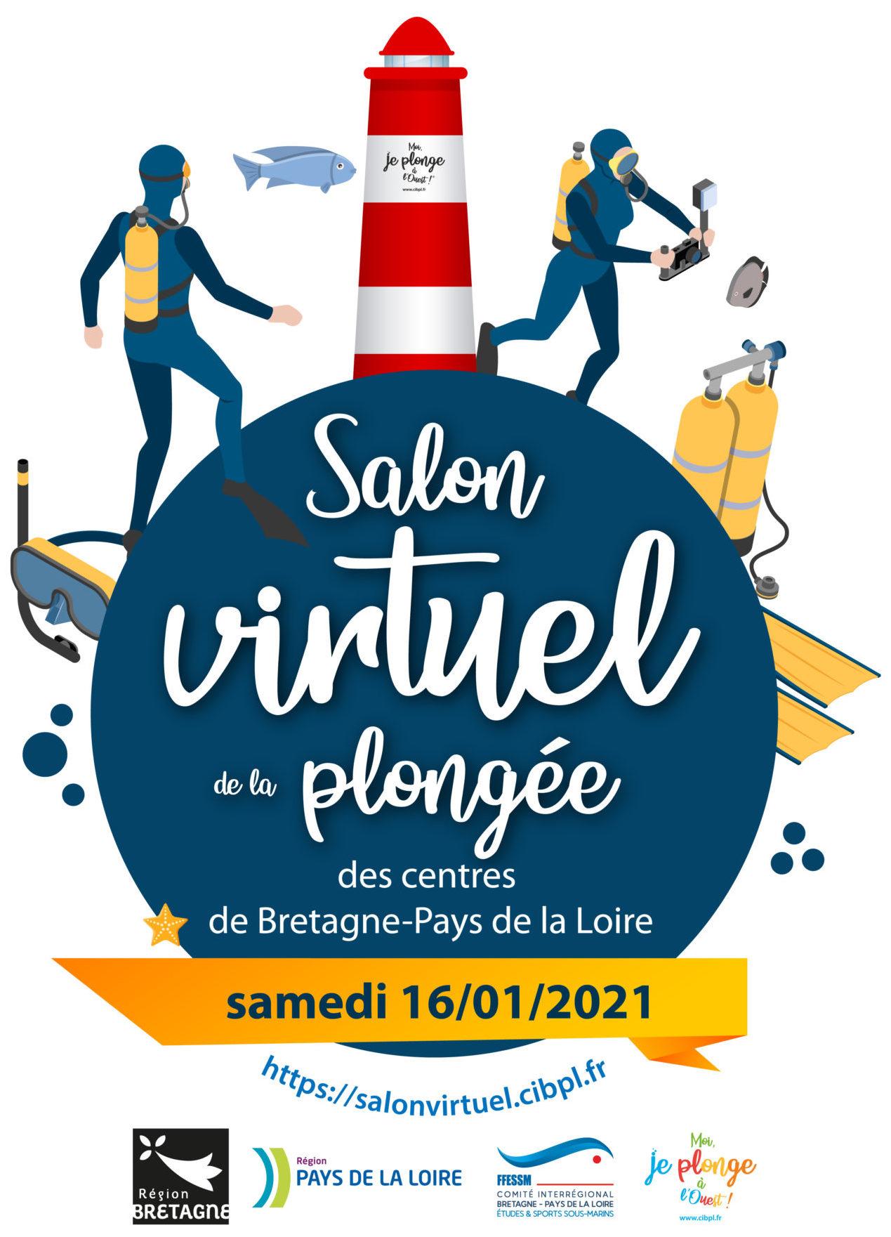 Salon virtuel de la plongée de Bretagne-Pays de la Loire