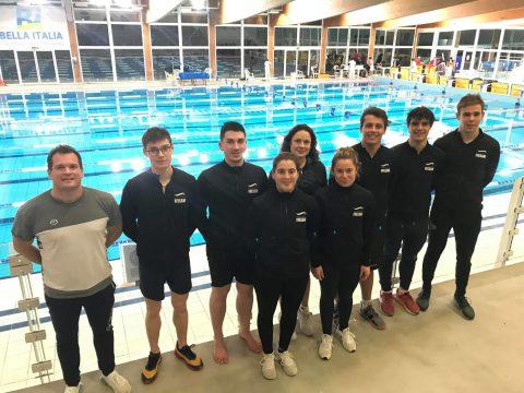 8 nageurs à la 1ère manche de la coupe du Monde