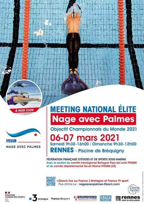 Anais Verger et Axel Torremocha au 12/13 de France 3 pour le Meeting National de Rennes