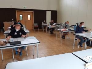 Examen théorique guide de palanquée à Quimper