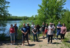 Plongées bio CoDep/CPIE au lac bleu, Chalonnes sur Loire, le 20 juin 2021