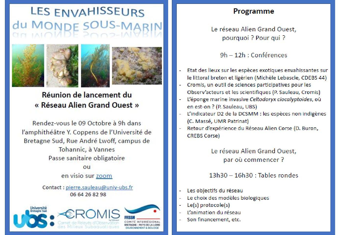 """Lancement du """"Réseau ALIEN Grand Ouest"""""""