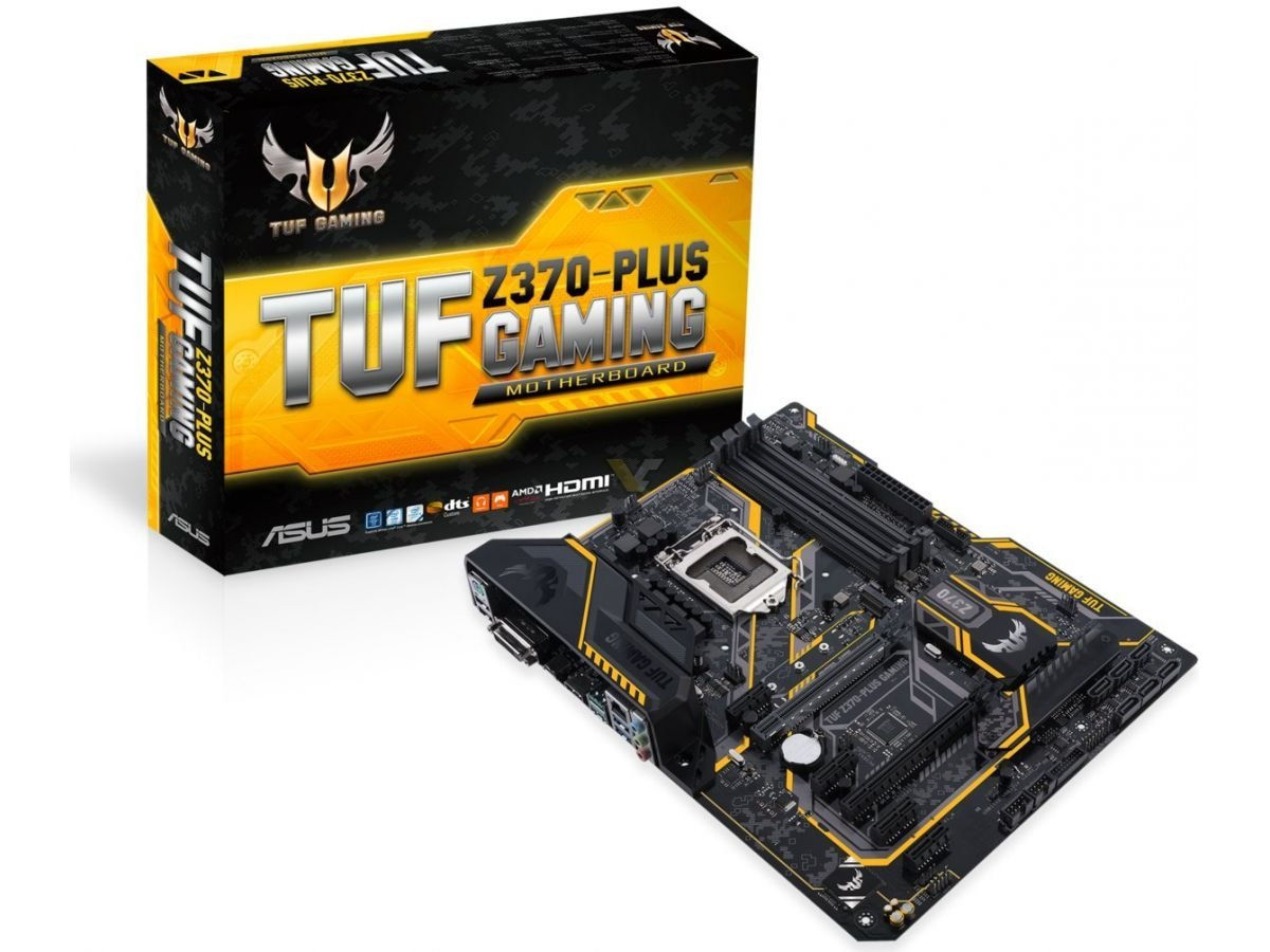 ASUS TUF Z370-PLUS GAMING motherboard