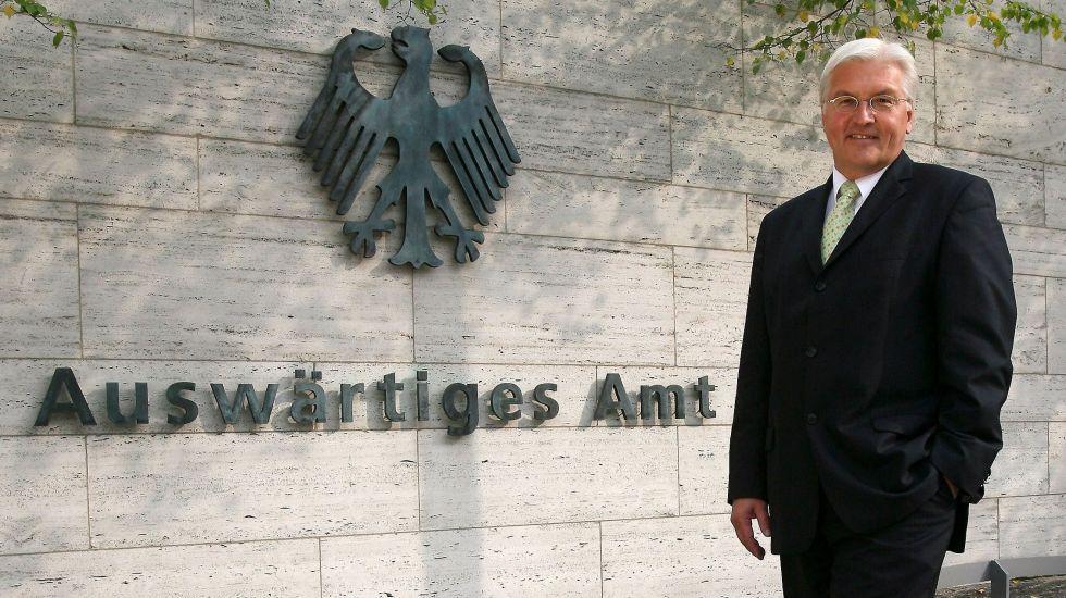 Frank-Walter Steinmeier und das Auswärtige Amt haben so gut wie jede außenpolitische Entwicklung verschlafen / picture alliance