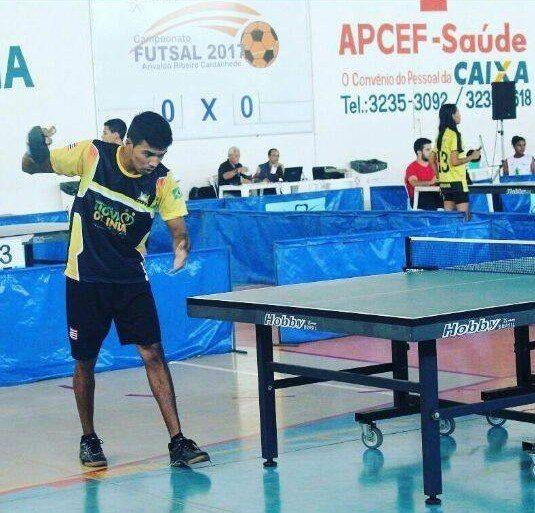 Atleta Francisco Guilherme de Nova Olinda do Maranhão na lista de votação do Troféu Mirante.