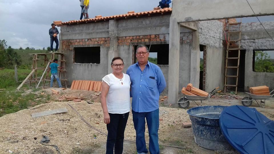 Prefeitura de Nova Olinda do Maranhão retoma obra da Escola Municipal da Quadra B4