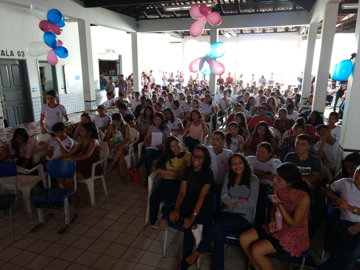 Grêmio Estudantil CETAR e NASF promovem ação educativa em Nova Olinda do MA