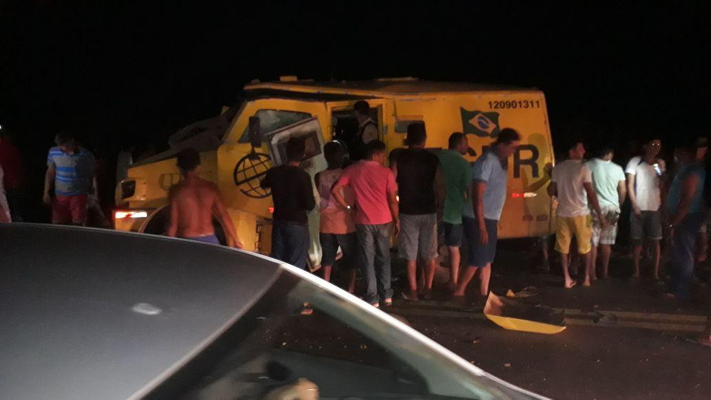 Urgente ! Bandidos atacam carro forte em Alto Alegre do Maranhão