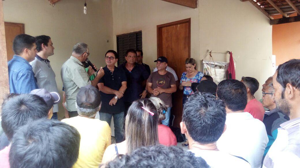 Deputado Hemeterio Weba (PP) cumpre agenda no município de Arame.