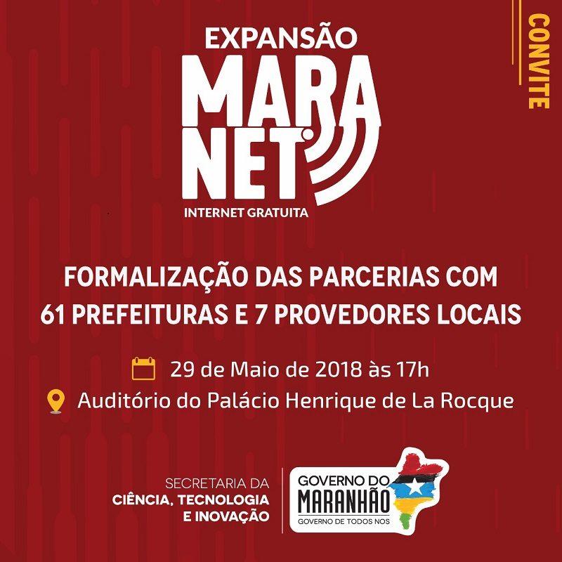 Nova Olinda do Maranhão é incluída na Rede MaraNet
