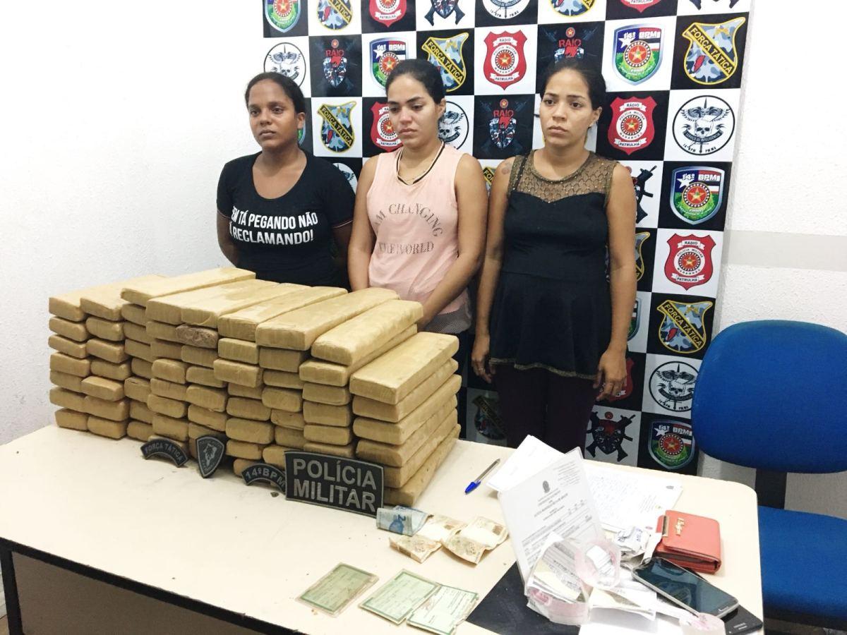 Polícia apreende 62kg de drogas que iriam de Goiânia para São Luís