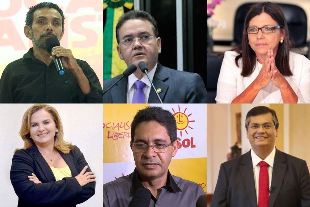 Confira a agenda dos candidatos ao governo para sexta
