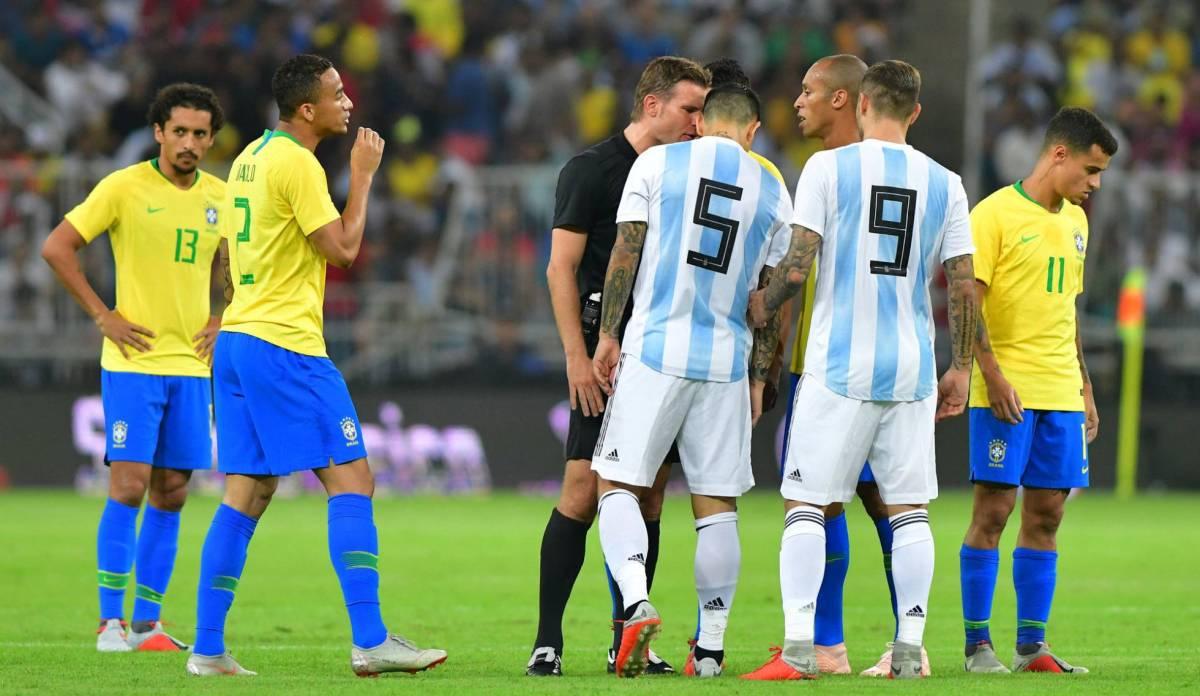 Brasil vence a Argentina no clássico sul-americano na Arábia Saudita