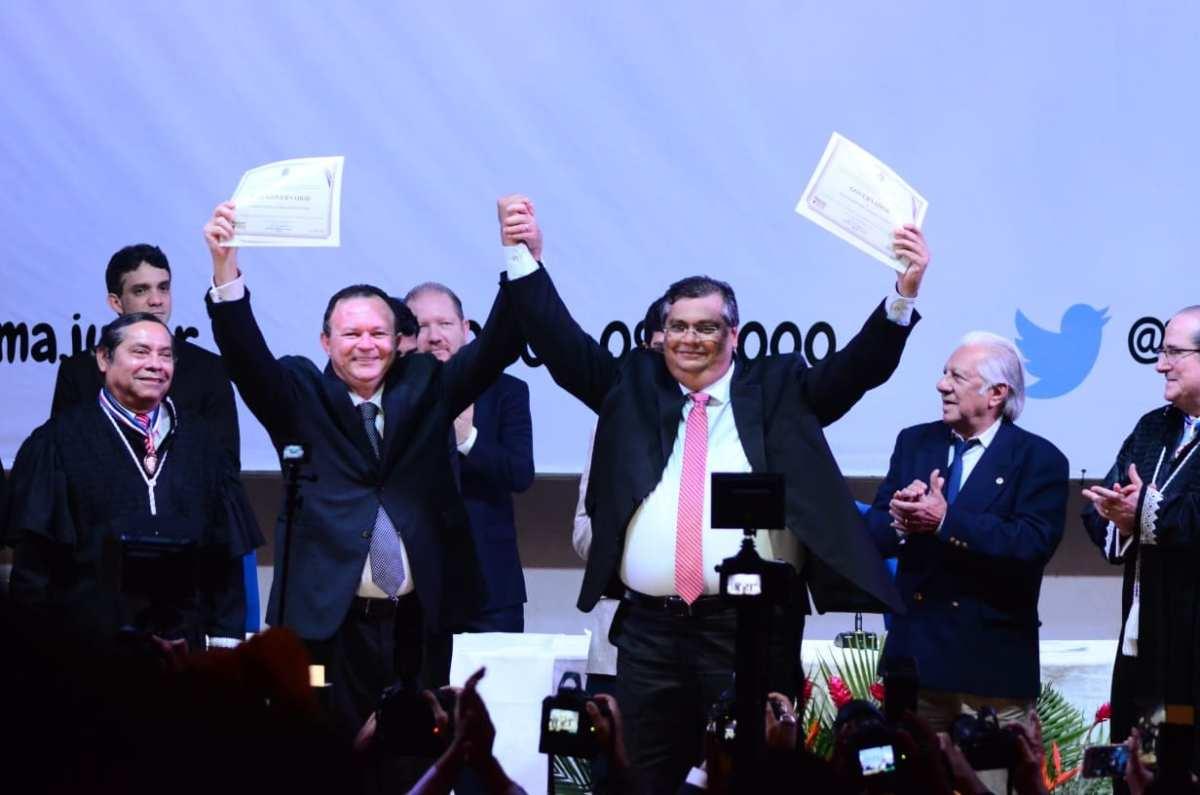 Flávio Dino é diplomado pela Justiça Eleitoral e anuncia o Pacto Estadual pela Aprendizagem