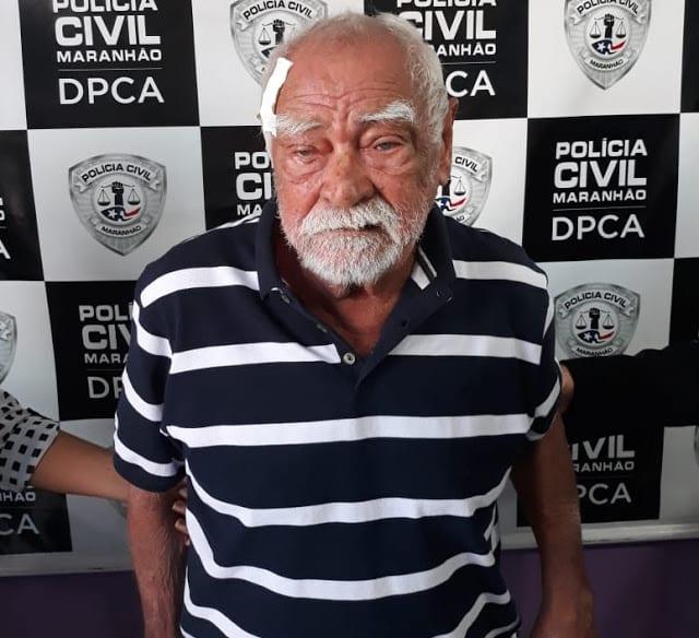 Preso idoso que estuprou criança de 10 anos na Vila Flamengo, em São José de Ribamar