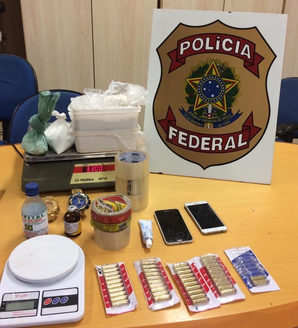 Polícia Federal fecha laboratório de cocaína em Pedro do Rosário