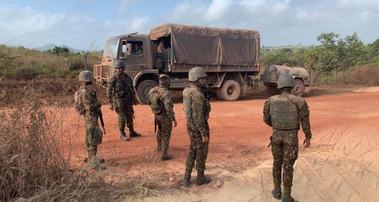 Caminhões com carga de madeira em situação irregular são apreendidas em Zé Doca
