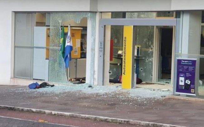 Tentativa de assalto a banco termina com 7 suspeitos mortos no Rio Grande do Sul