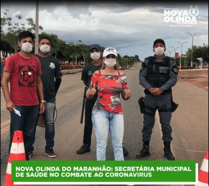 Secretaria Municipal de Saúde de Nova Olinda do MA mantém trabalho preventivo contra o COVID 19