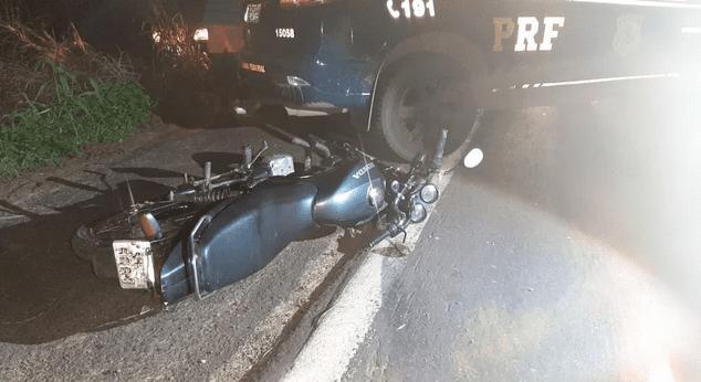 Colisão entre motocicleta e caminhão deixa um morto na BR-316 no MA