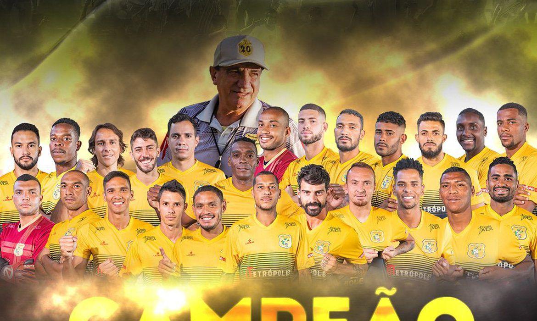 Brasiliense supera Remo nos pênaltis e conquista a Copa Verde 2020