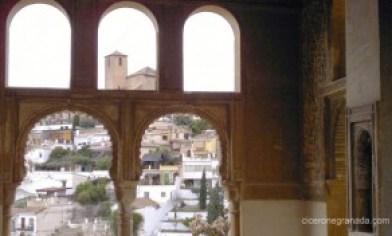 El mirador del Palacio de Dar a-Horra