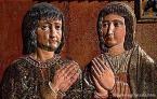 DEtalle de los Reyes Católicos en la Capilla Real