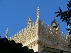 DEtalle de la Fachada en la Capilla Real