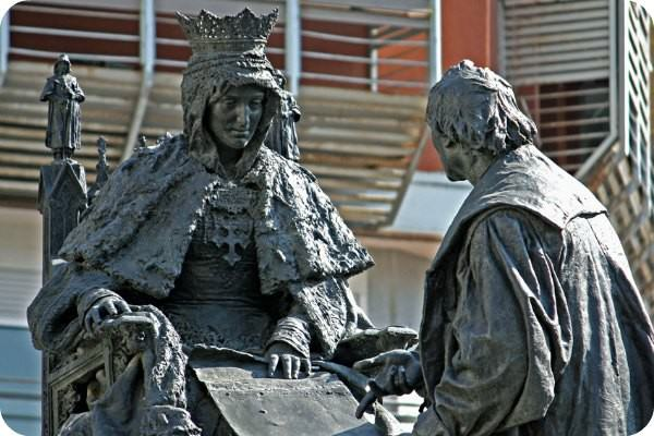 Monument to Queen Isabella I of Castile and Christopher Columbus