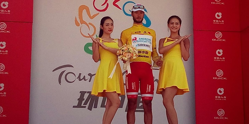 Raffaello Bonusi vince il Tour of China I @ Androni-Sidermec