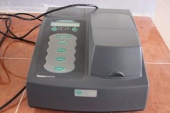 Espectrofotómetro para determinar fósforo
