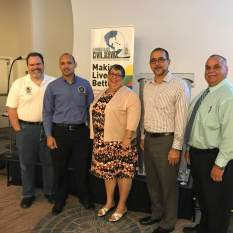 """CICSA Leadership at POCS """"Engaging for Success"""" Seminar"""