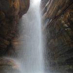 Cachoeira da Califórnia na vila de IGATU