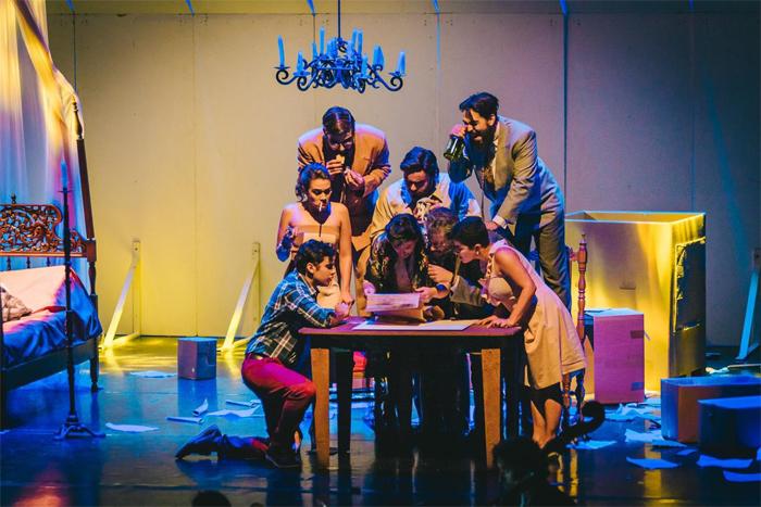 Foto do Elenco da Ópera Gianni Schicchi Indaiatuba