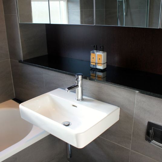 Contemporary basin in Chelsea