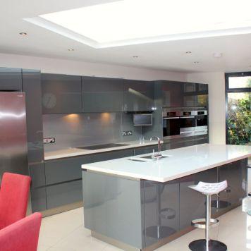 German Kitchen in Fulham Refurbishment