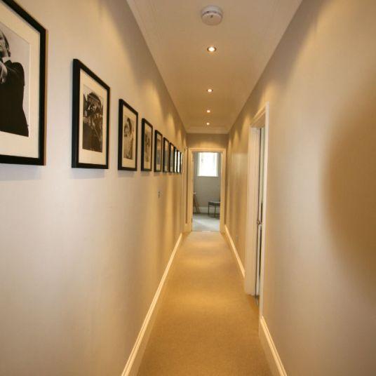 Hallway after refurbishment in Chelsea