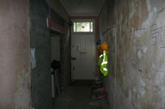 Knightsbridge entrance hallway before