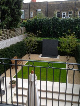 Landscaped Garden created in Knightsbridge