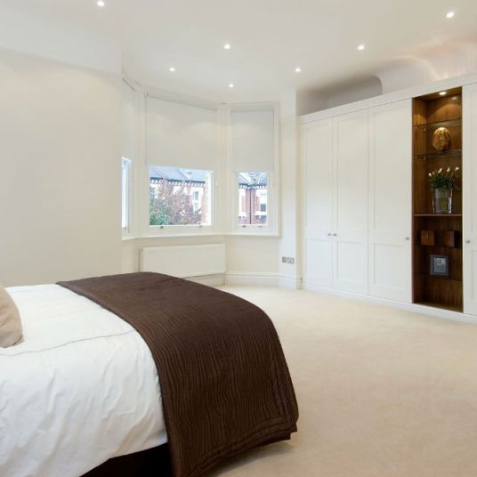 Large Master Bedroom created in Wandsworth development