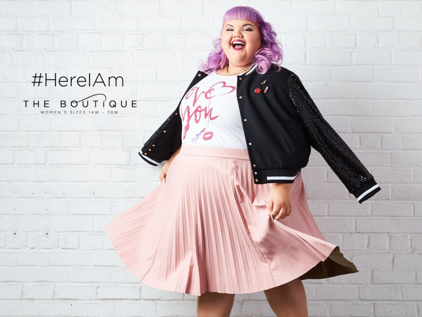 jcpenney, plus size collection