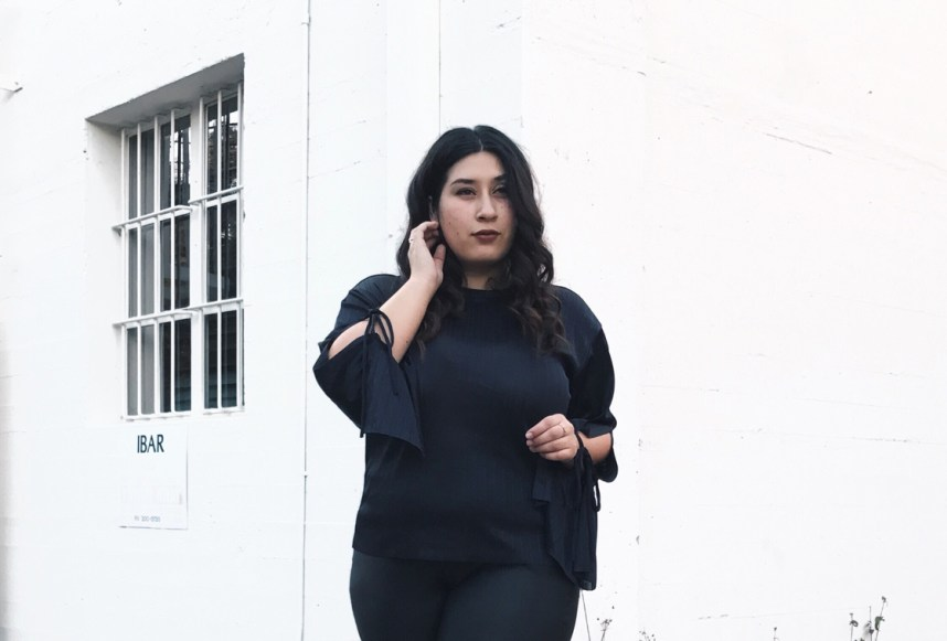 bell sleeve top, night out, style, date night