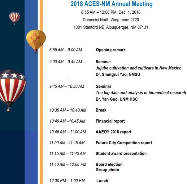 ACES-NM Annual Meeting (2018-12-01)
