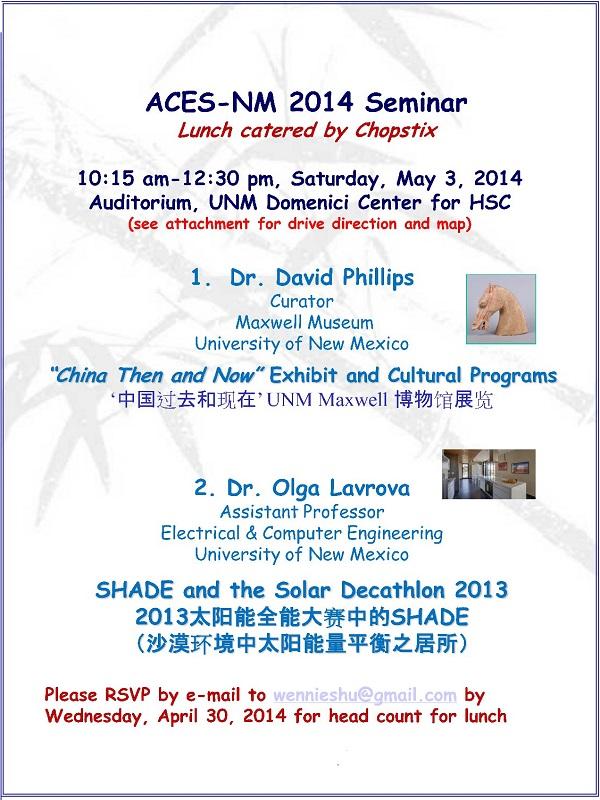 ACES-NM Seminar (2014-05-03)