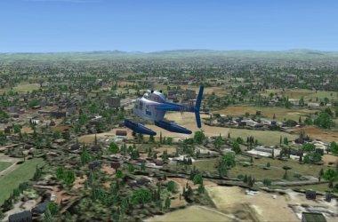 Sawbury Feilds - Earth simulations