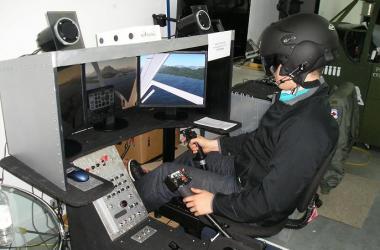 Simulateur BELL206 Salon de l'aviation virtuelle du Québec