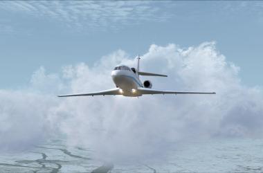 Falcon 50 pour FSX