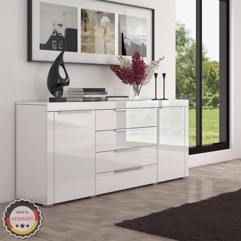 meuble commode blanc design