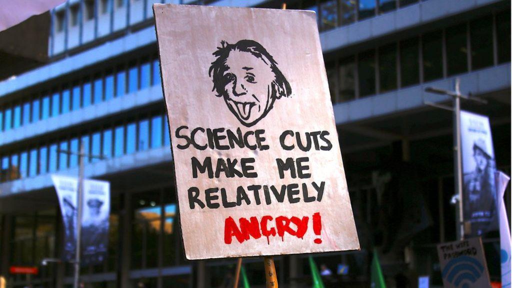 Corte de verba na ciencia